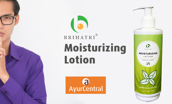 Brihatri Moisturizing Lotion As Aftershave Lotion | Ayurcentralonline