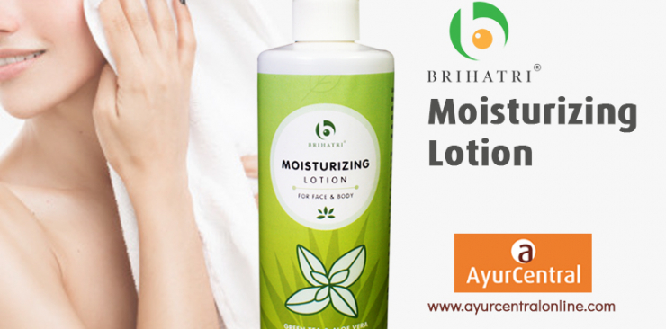 Brihatri Moisturing Lotion | Care For Your Skin In Winters | Ayurcentralonline